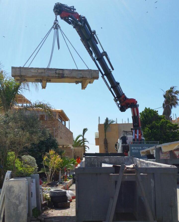 ניסור בטון יהלום בתל אביב
